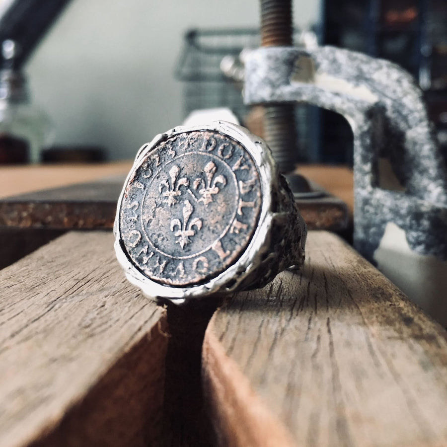 Antique 2 ring