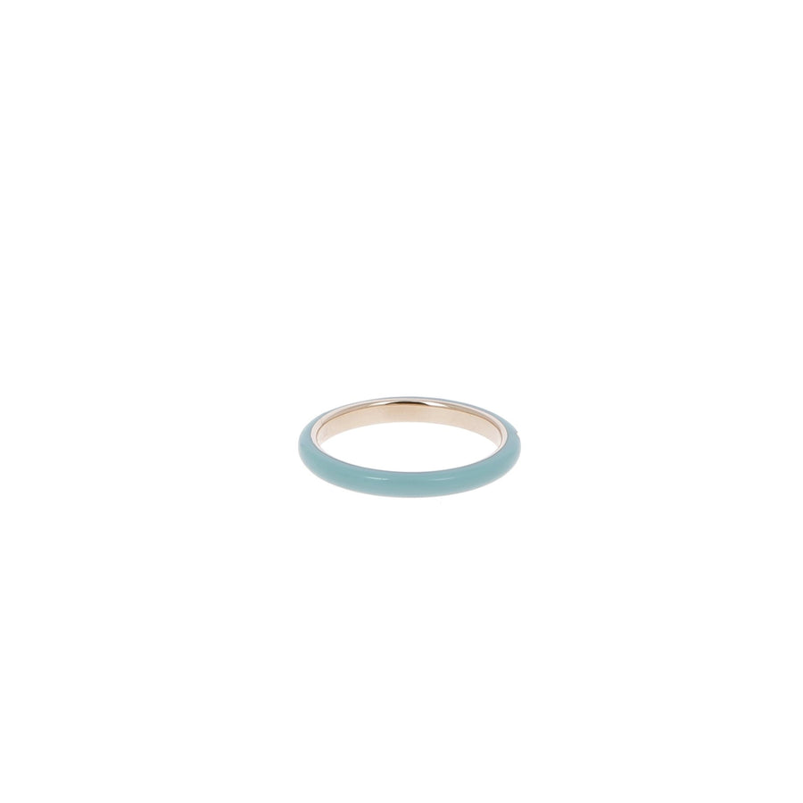3 Diamond Turquoise Ring