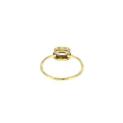 Square Cocktail Ring
