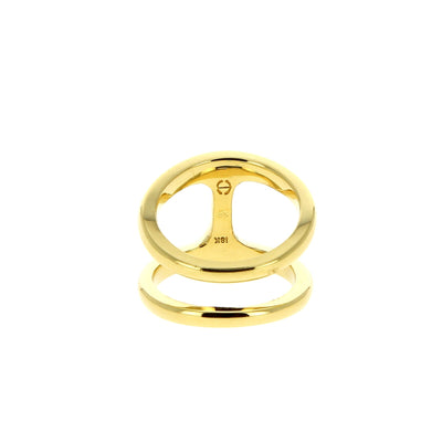 Yellow Gold Phantom Lady Ring