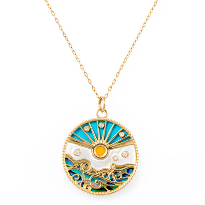 Love Summer Pendant Necklace