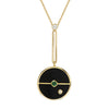 Necklace Onyx Compass
