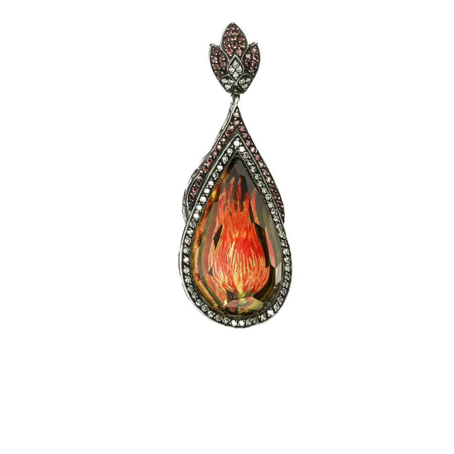 Aladdin fire necklace