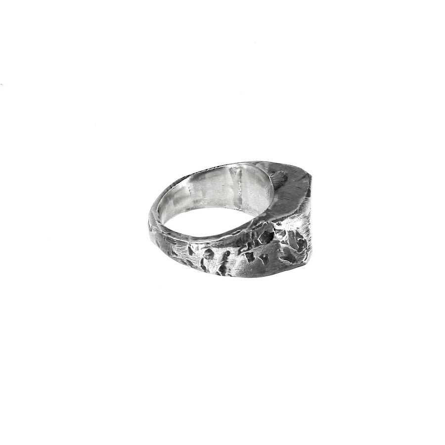 Asymmetric Signet Ring