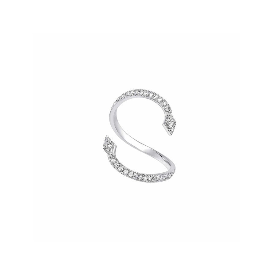 Pearl Me Up Ring White Gold