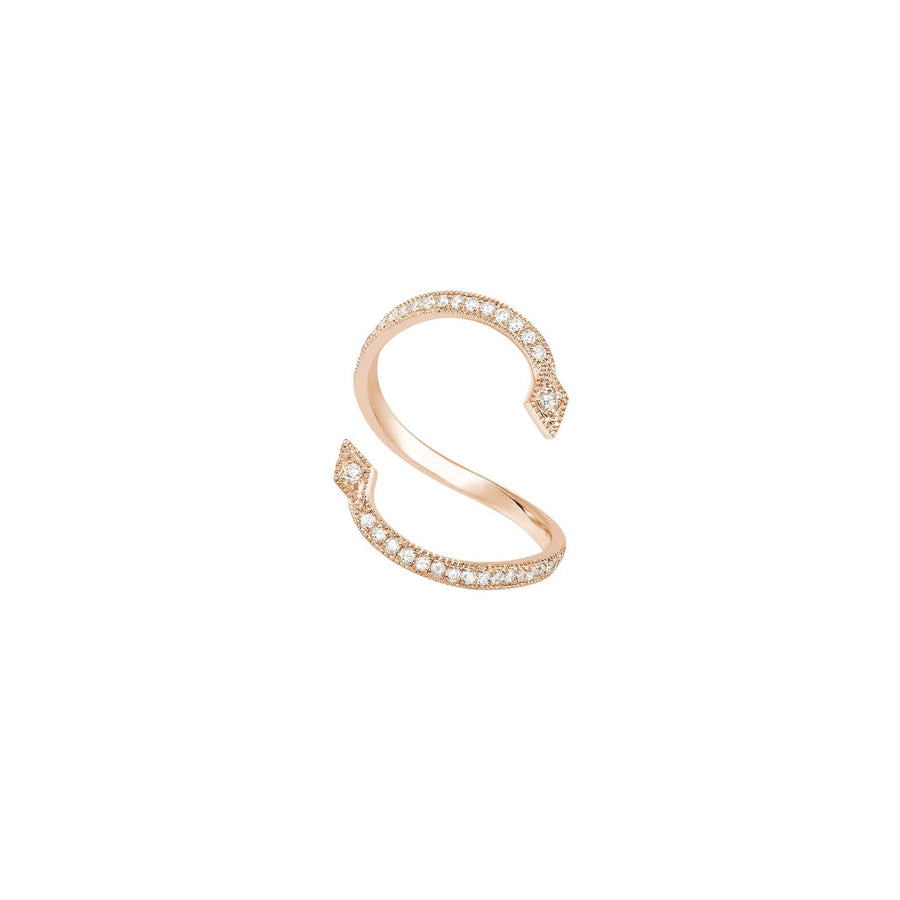 Pearl Me Up Ring Rose Gold