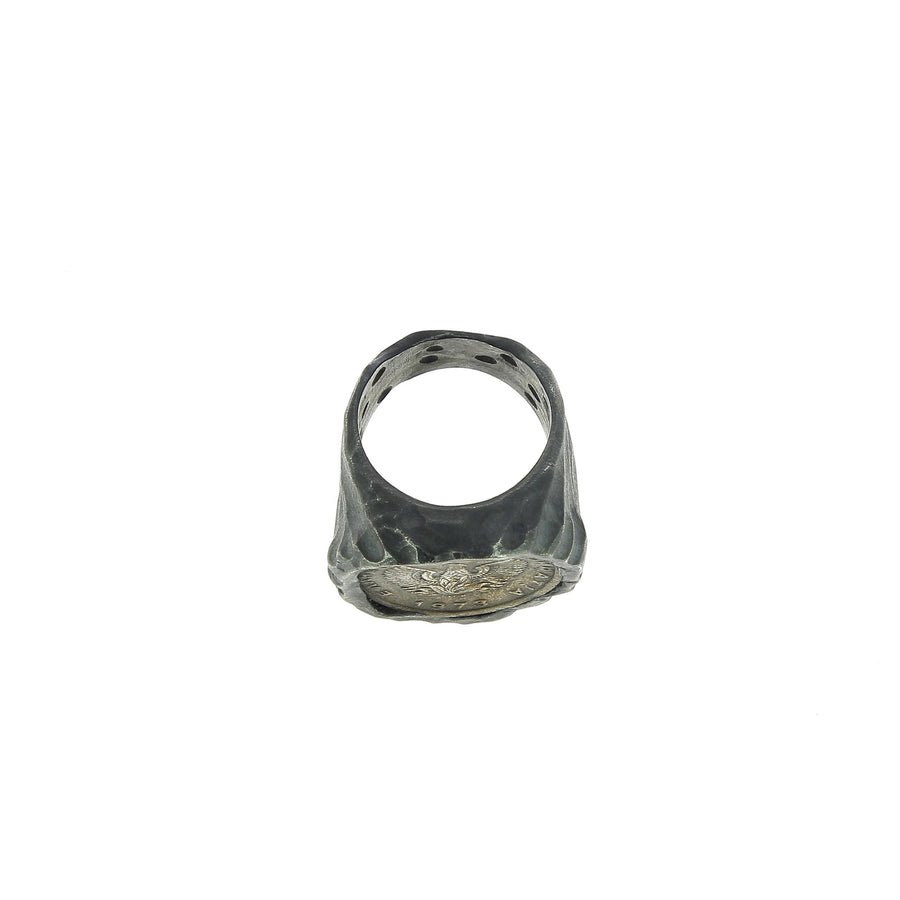 Eagle Coin Ring