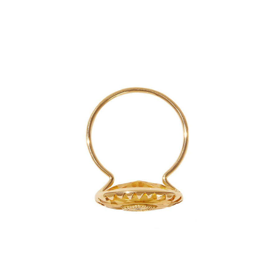 Souad Citrine Ring
