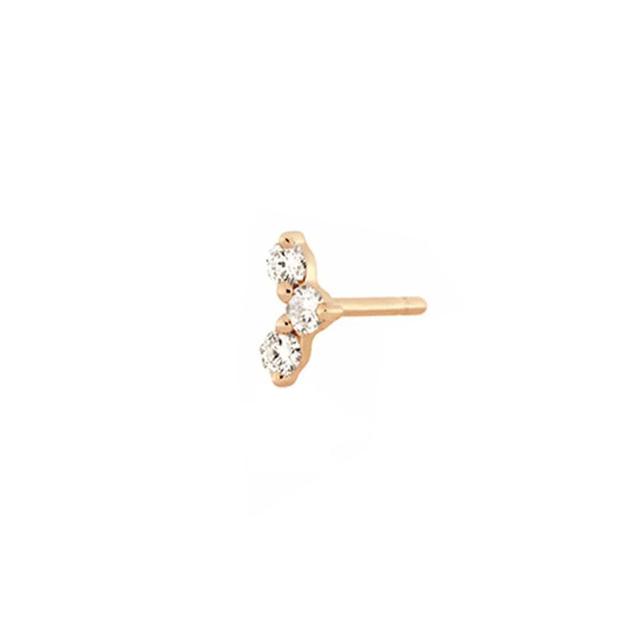 Tryptik Earring Rose Gold