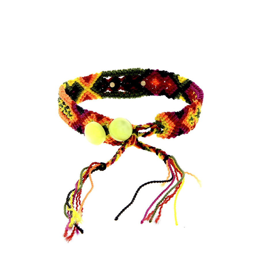 Crab Bahia Bracelet Ruby and Diamond