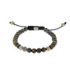 Brown and Grey Sapphire Bracelet