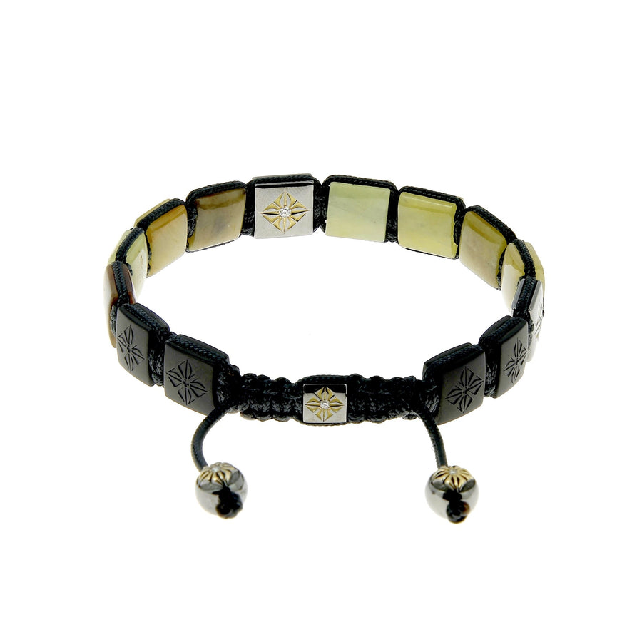 Brown and Yellow Sapphire Bracelet