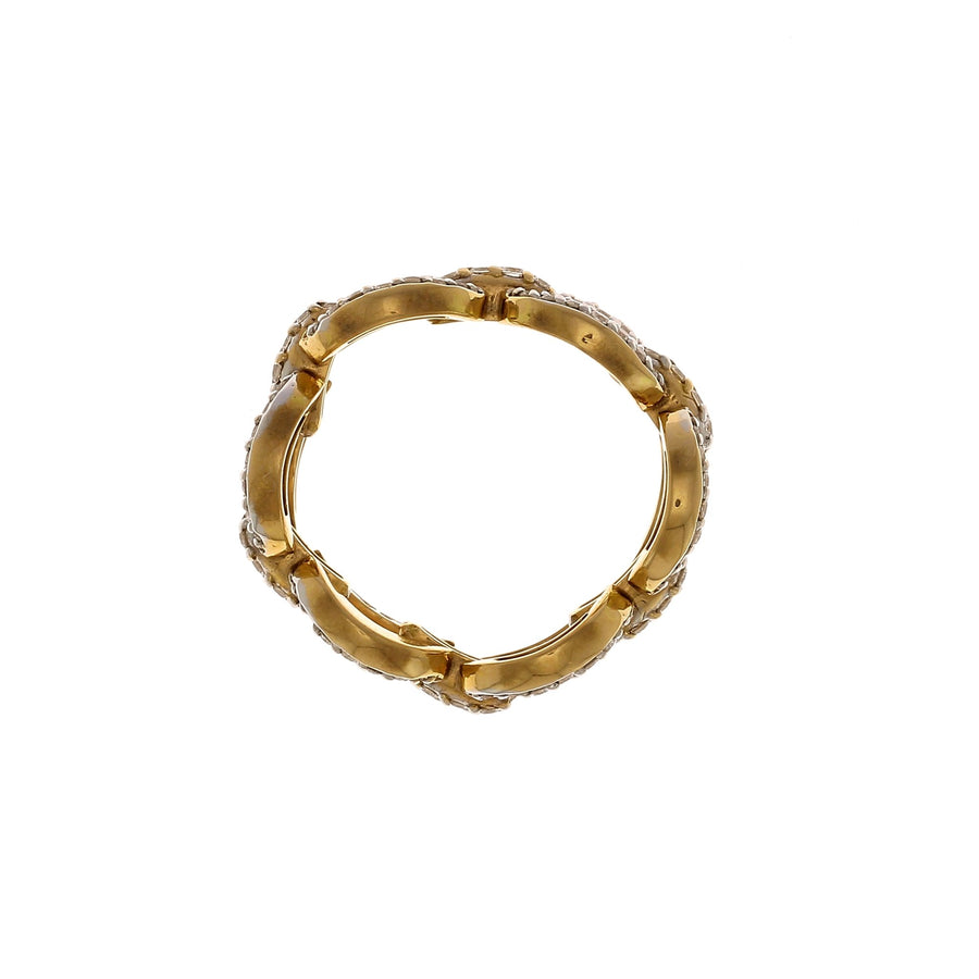 Catena Pave Small Ring