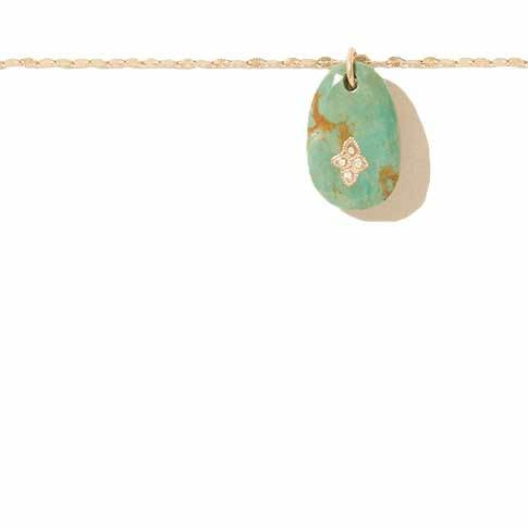 Gaia n°1 Turquoise Necklace