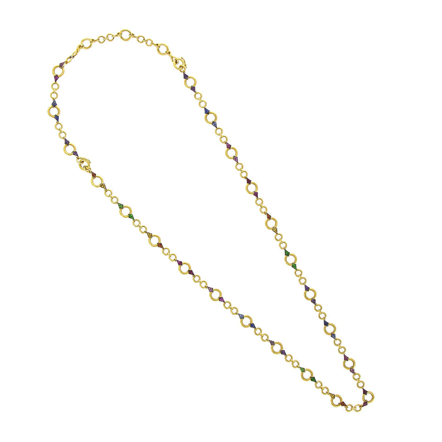 Milan Long Necklace