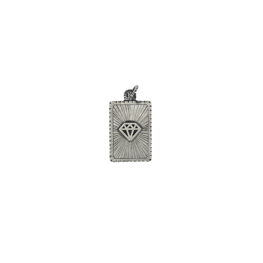 Diamond Dog Tag