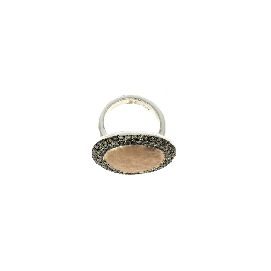 Fidji RIng Cognac Diamonds