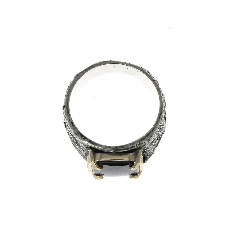 Gold Up Frame Ring