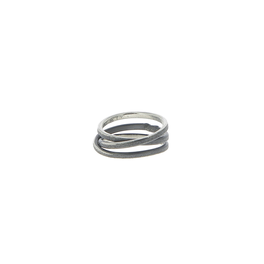 Grit Silver Ring