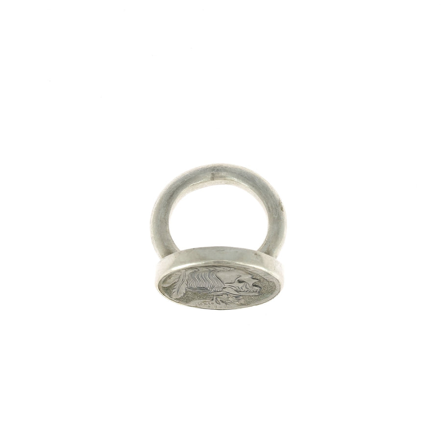 Hobo Indian Warrior Ring
