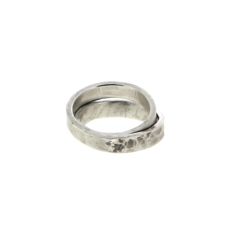 Textured Ring Double Banded V1