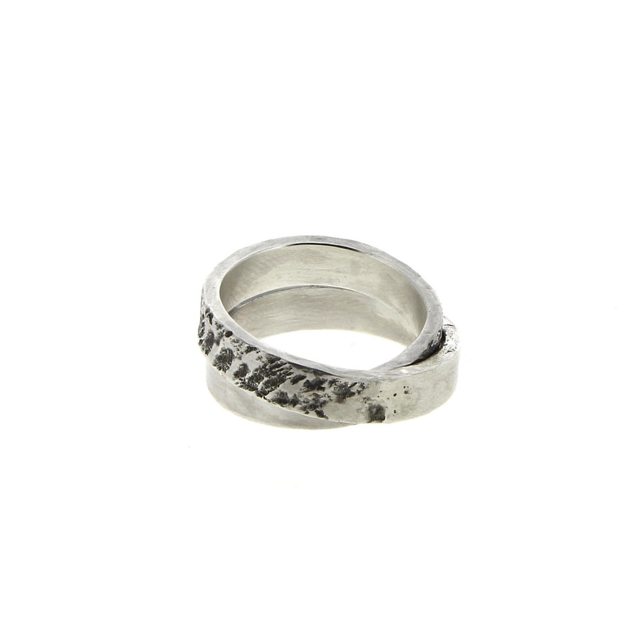 Textured Ring Double Banded V2
