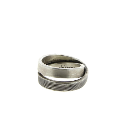 Textured Ring Double Banded V3