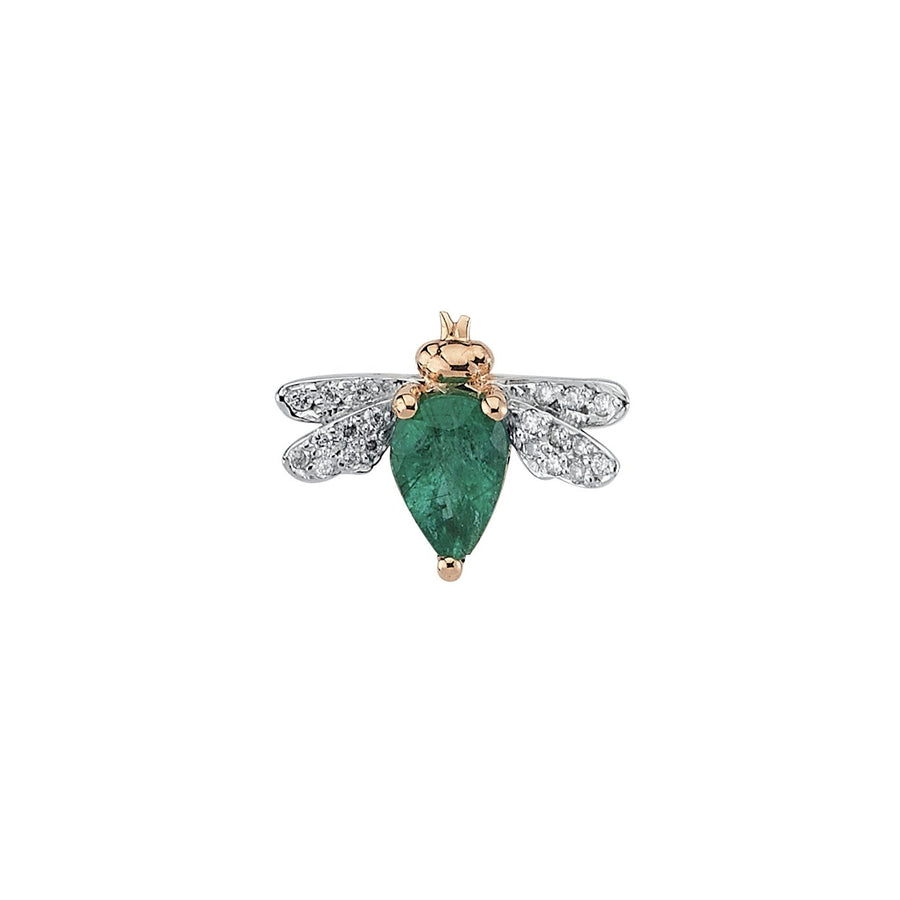 HONEY BEE EARRING Emerald