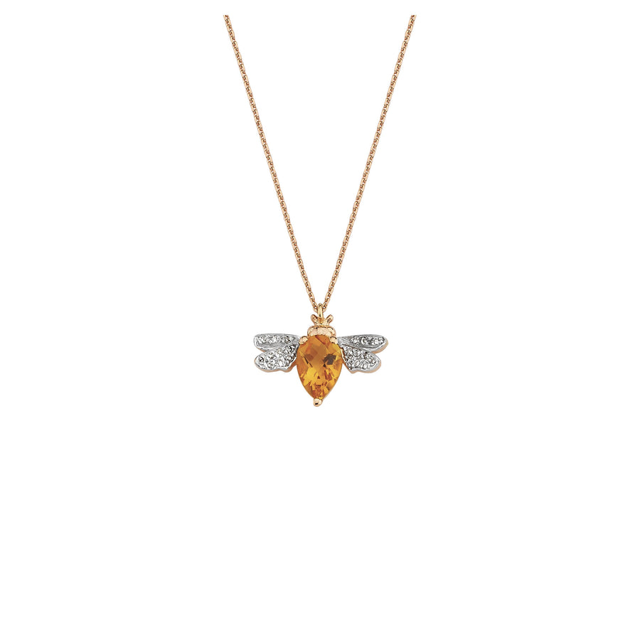 HONEY BEE NECKLACE Citrine