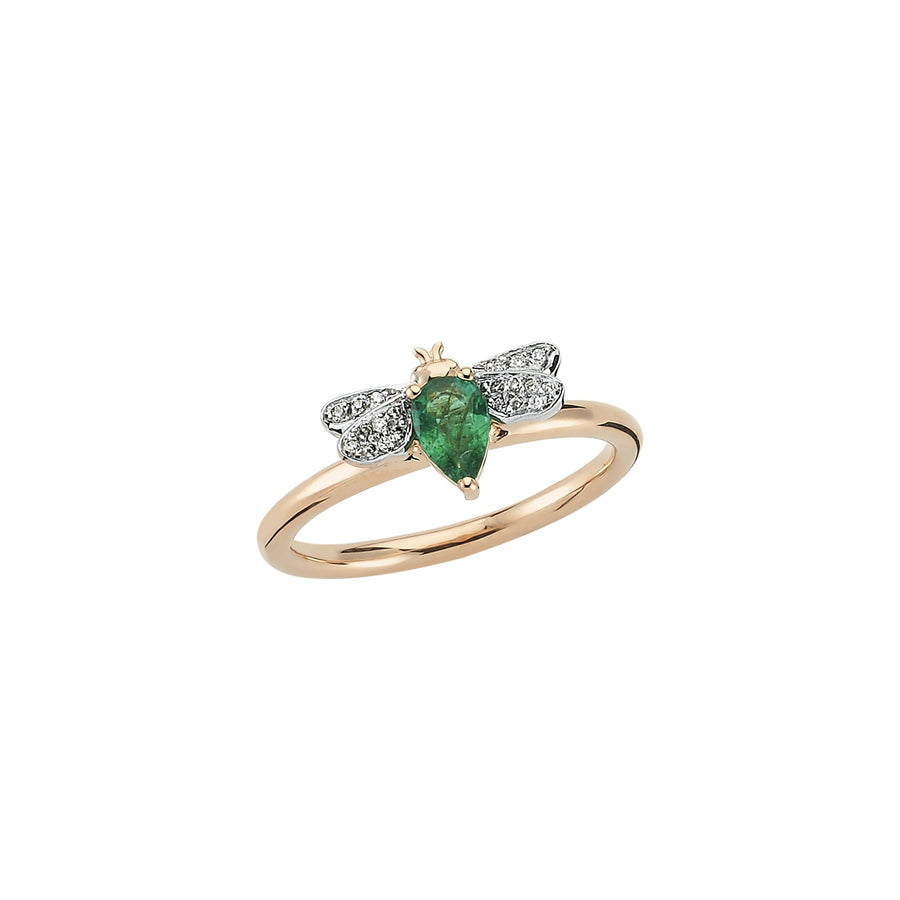 HONEY BEE RING Emerald