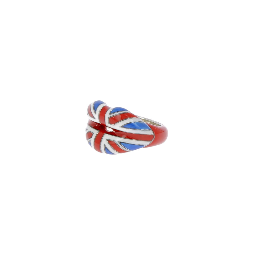 Hotlips union jack ring