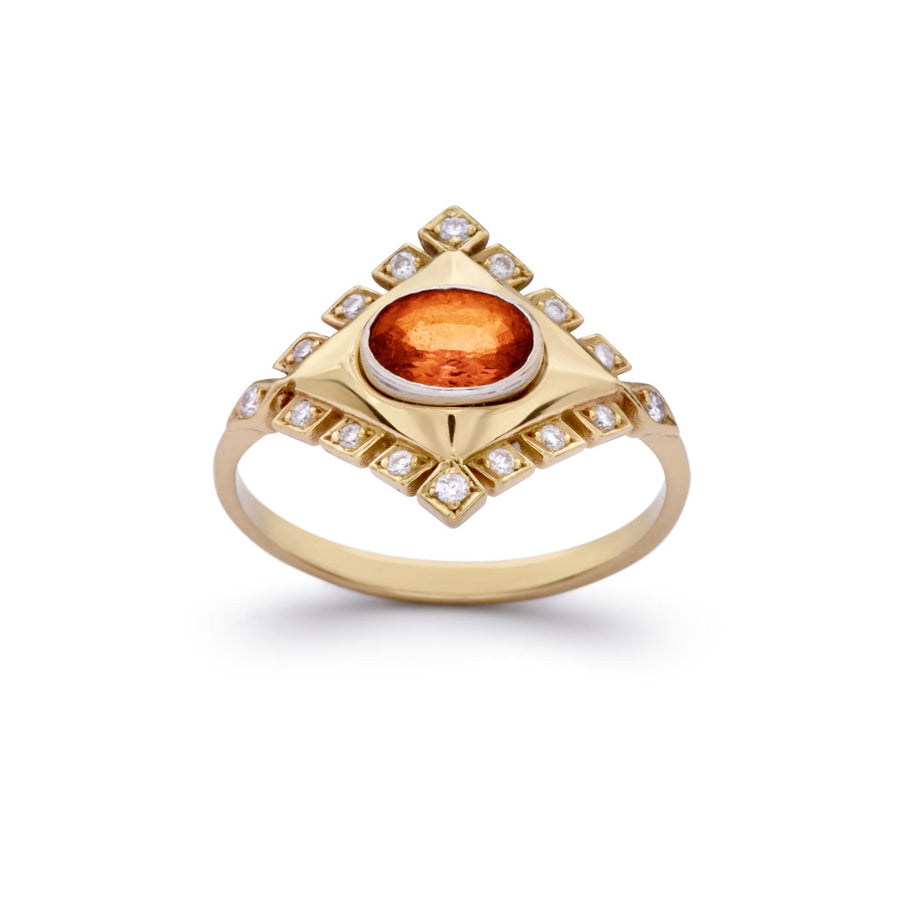 Jagged Rhombus Ring