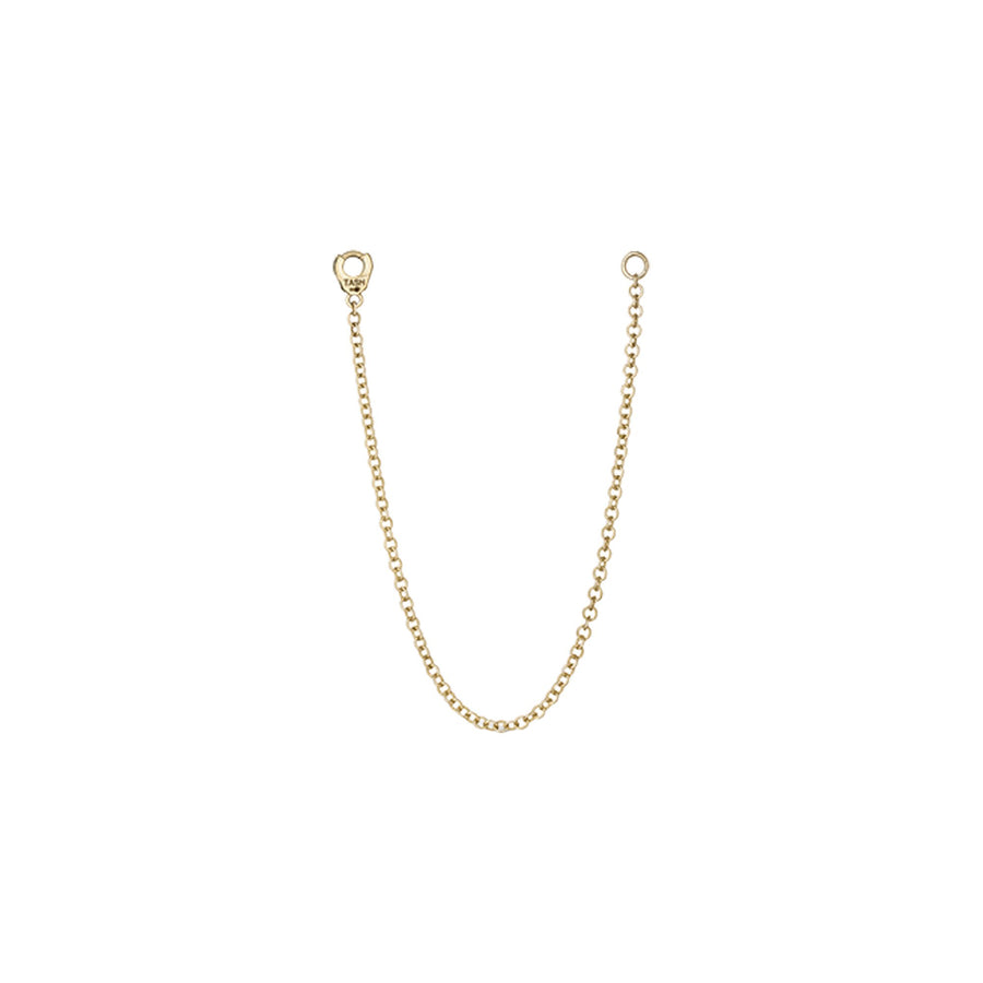 Long Single Chain Yellow Gold