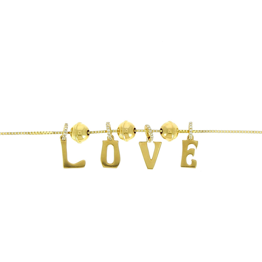 Marlo laz love necklace