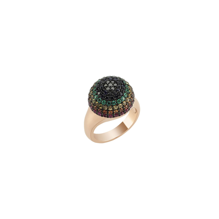 MONDRIAN SOUL  SMALL COLORS RING Diamond