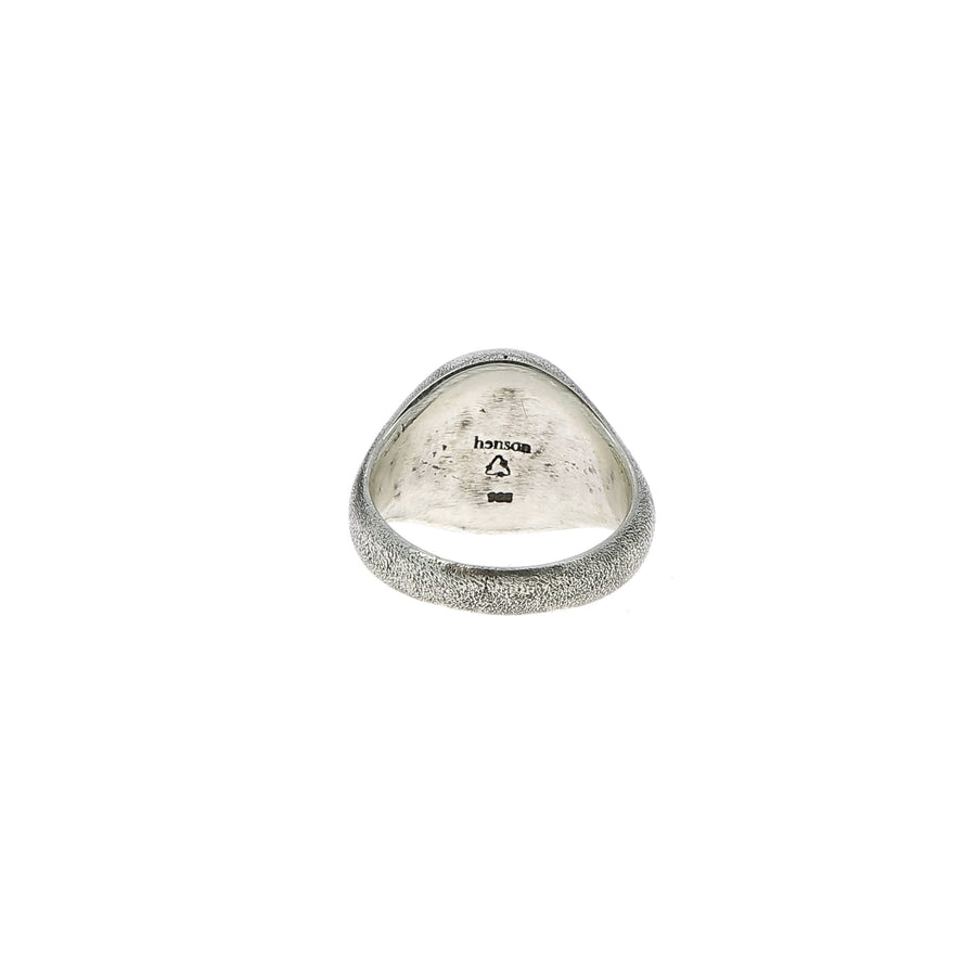 Moons and sword signet ring