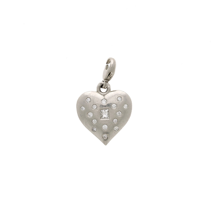 Nancy newberg puffy heart charm