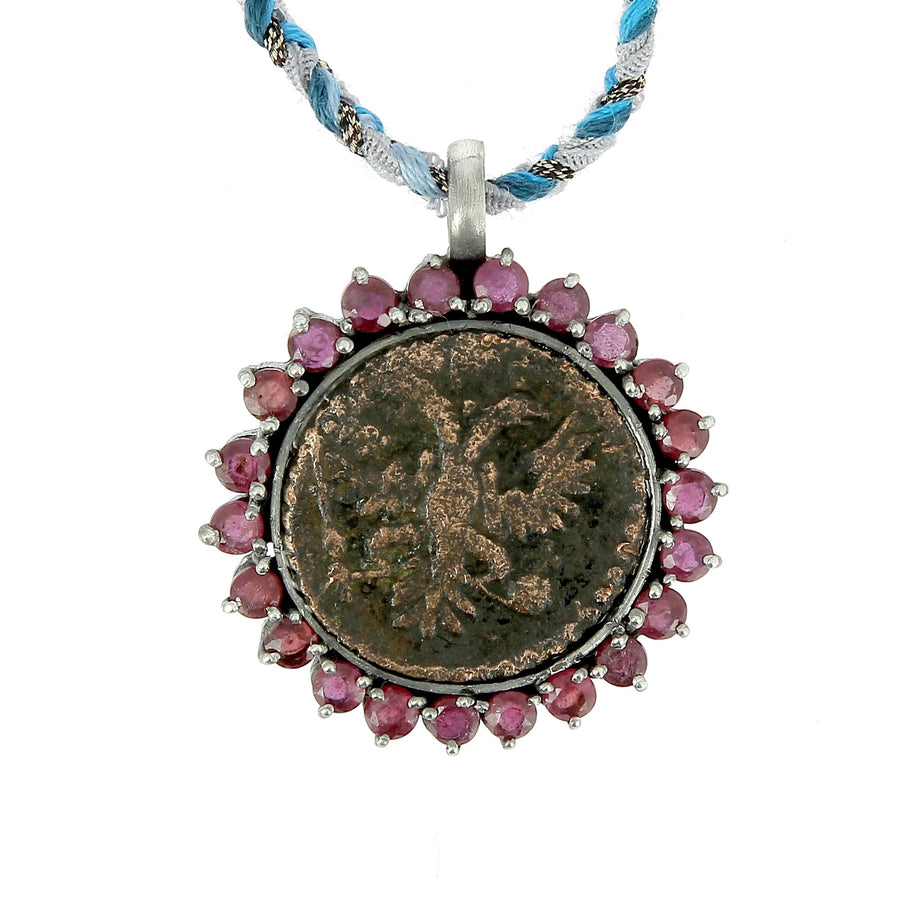 Old Indian Coin Necklace