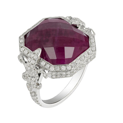 Ruby Chouchane Ring
