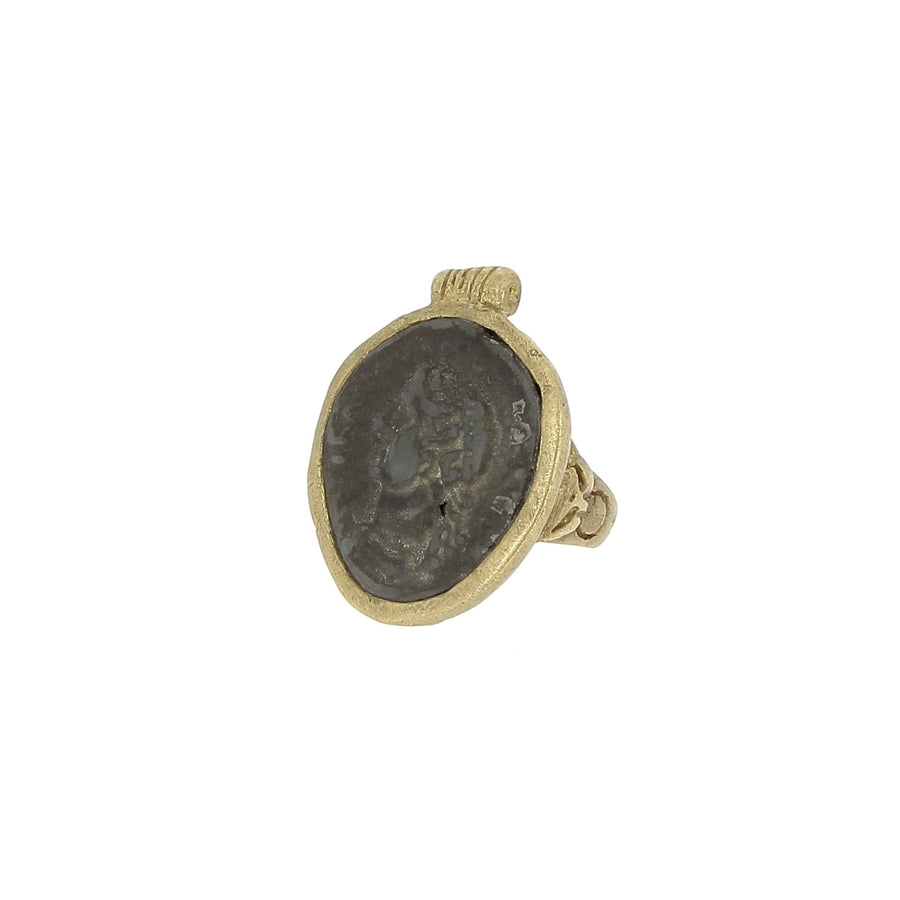 Antique Bronze Ring 4