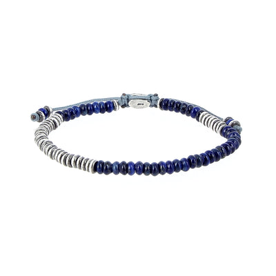Mini Lapis Bracelet and Silver