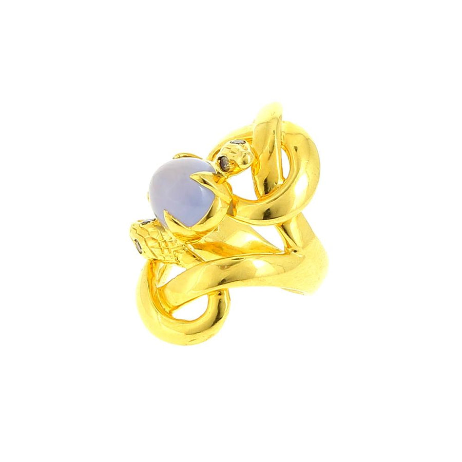 Ring Intimate Friends-Double Insiders Chalcedony