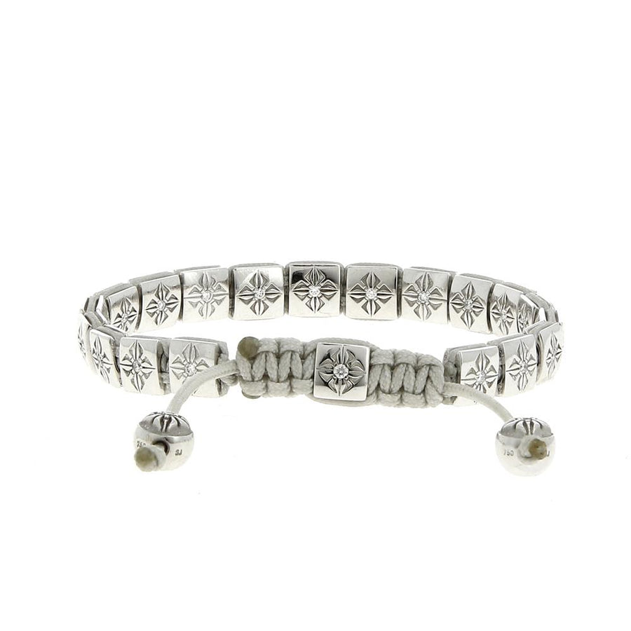 6mm Lock White Diamonds bracelet