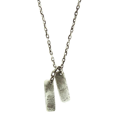 Mini Long Tag Necklace