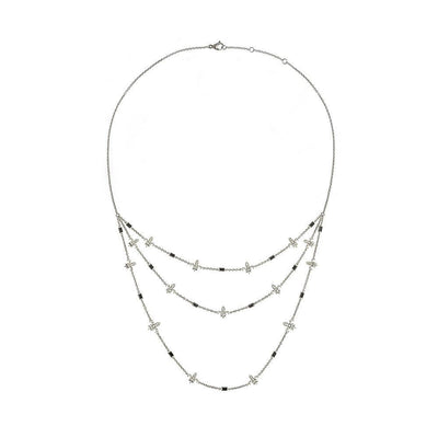 Chouchane 3 Row Necklace