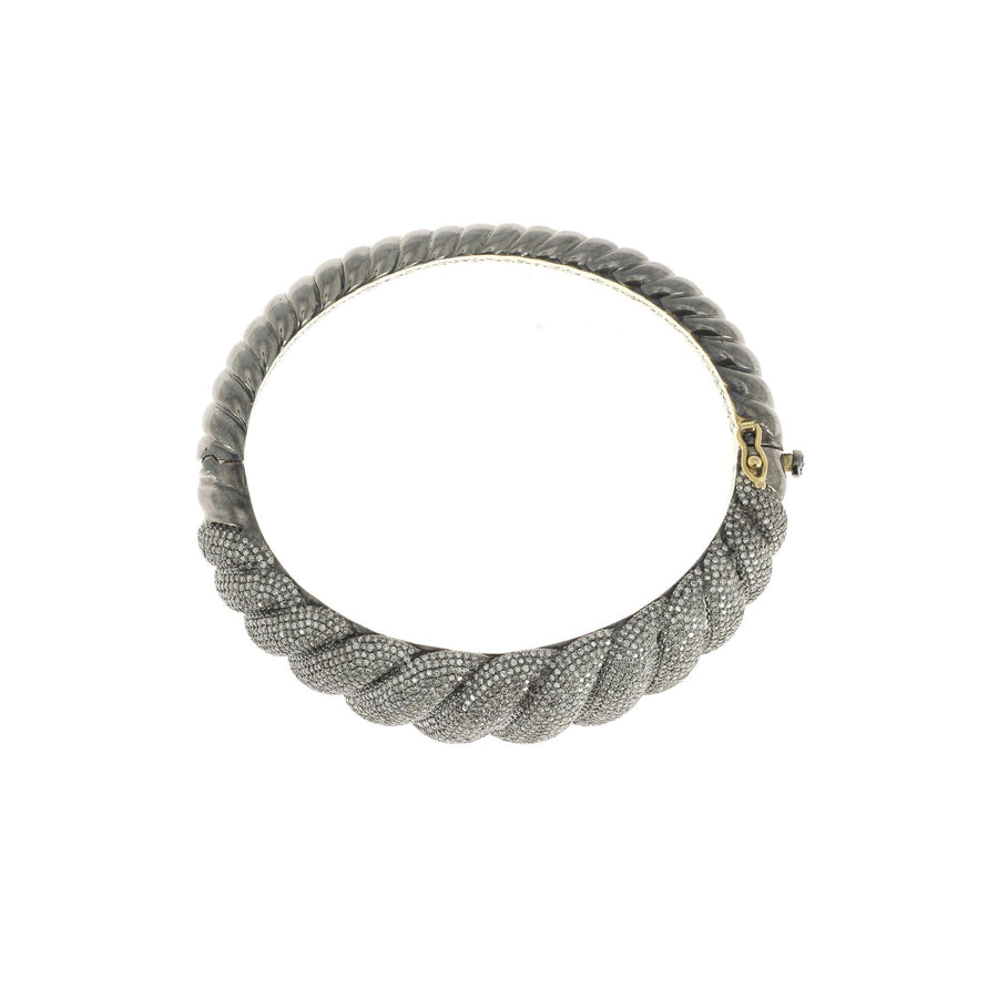 Pave Bracelet Gold and Silver