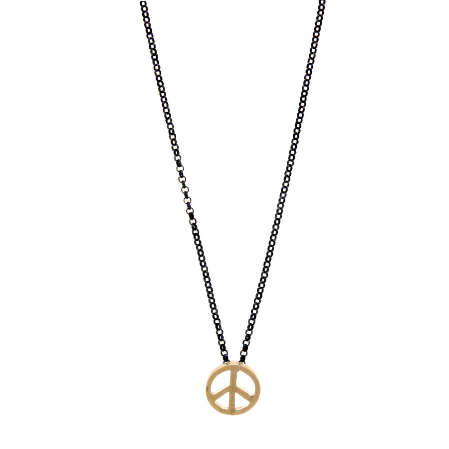 Peace and Love Necklace