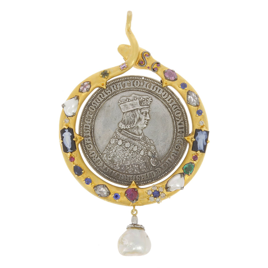 Pendant anne of brittany