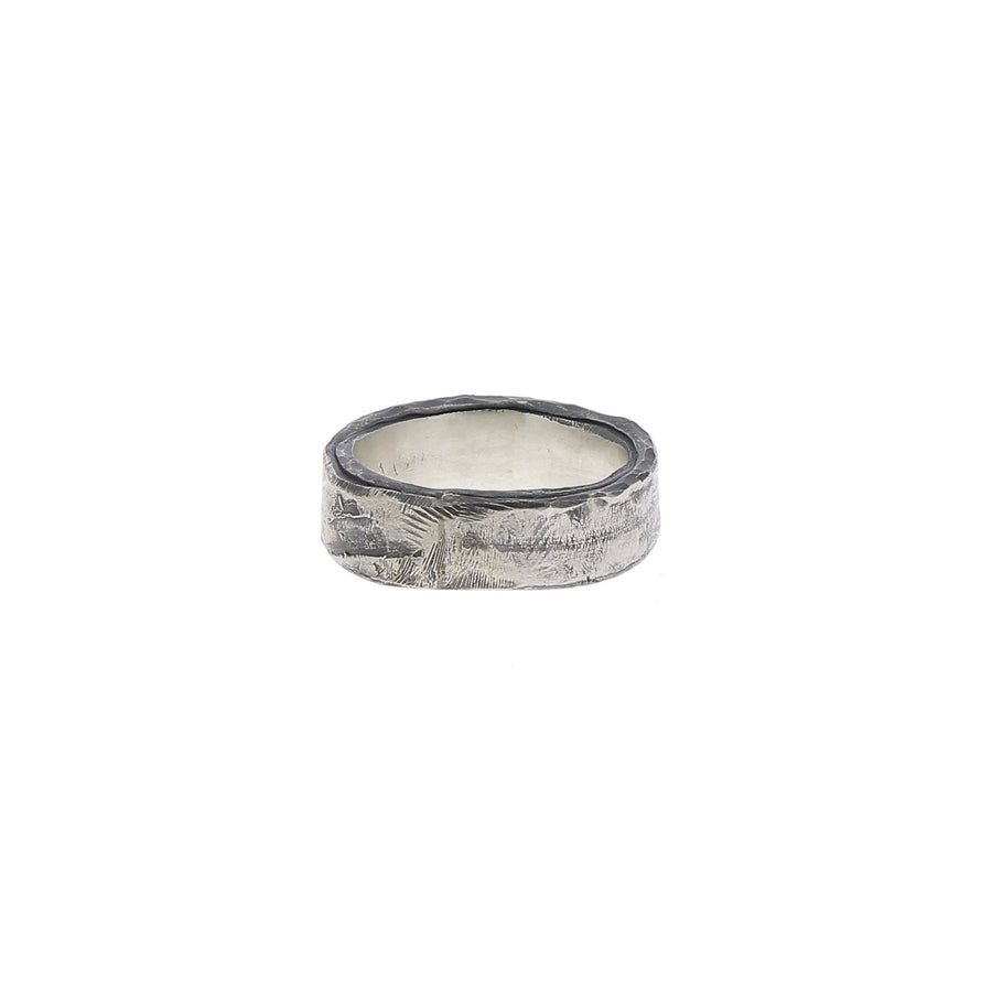 Raw band ring