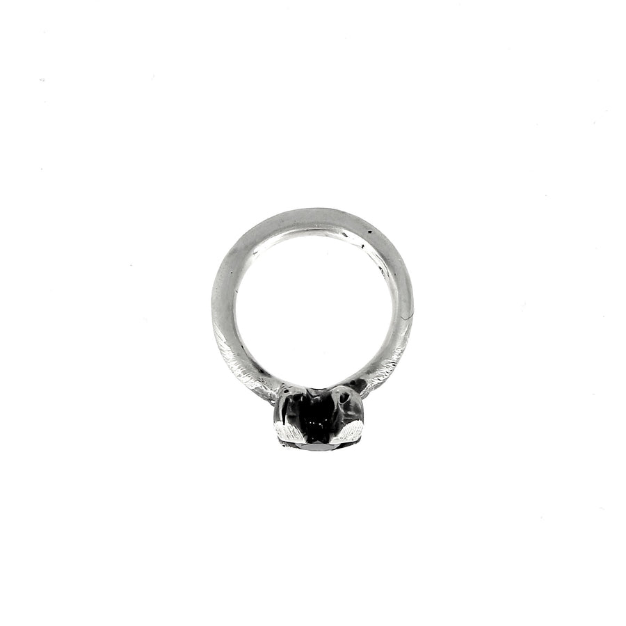 Ring with 3 Black Diamonds